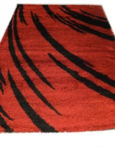 Высоковорсный ковер Gold Shaggy 8061 red - высокое качество по лучшей цене в Украине.