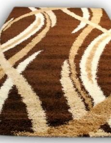 Высоковорсный ковер Gold Shaggy 8952 brown - высокое качество по лучшей цене в Украине.