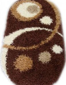 Высоковорсный ковер Loca (Super Lux Shaggy) 9197A brown - высокое качество по лучшей цене в Украине.