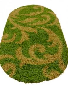 Высоковорсный ковер Loca (Super Lux Shaggy) 9161A GREEN - высокое качество по лучшей цене в Украине.