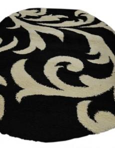 Высоковорсный ковер Loca (Super Lux Shaggy) 9161A BLACK - высокое качество по лучшей цене в Украине.