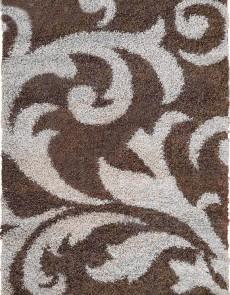 Высоковорсный ковер Loca (Super Lux Shaggy) 9161A d.brown - высокое качество по лучшей цене в Украине.