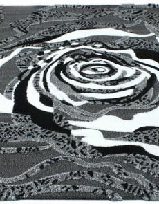 Высоковорсный ковер Luna 2452a p.black-p.grey - высокое качество по лучшей цене в Украине.
