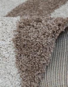 Высоковорсная ковровая дорожка SHAGGY BRAVO 1846 D.BROWN-BEIGE - высокое качество по лучшей цене в Украине.