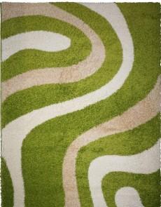 Високоворсный килим Shaggy 9109A Green-Optik Beyaz - высокое качество по лучшей цене в Украине.