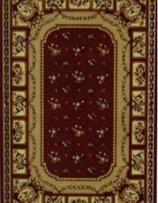 Синтетический ковер Amber 0328A kemik-bordo - высокое качество по лучшей цене в Украине.