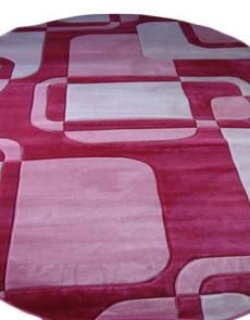 Синтетический ковер SENFONY 0348 pink - высокое качество по лучшей цене в Украине.