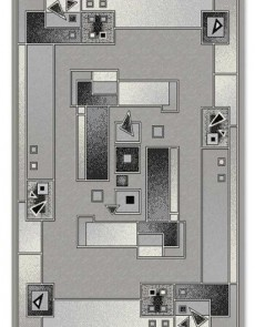Синтетический ковер Berber 884-21422 - высокое качество по лучшей цене в Украине.