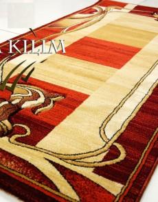 Синтетический ковер Exellent 0339A Burgundy - высокое качество по лучшей цене в Украине.