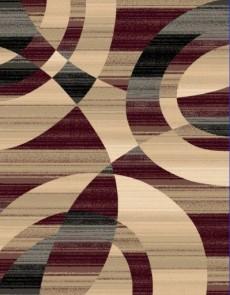 Синтетичний килим Faust 4332B burgundy - высокое качество по лучшей цене в Украине.