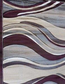 Синтетический ковер Faust 4333A d.brown - высокое качество по лучшей цене в Украине.