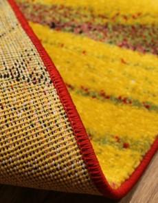 Синтетический ковер Feride f477 yellow-yellow - высокое качество по лучшей цене в Украине.