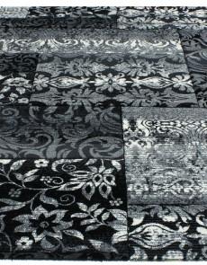 Синтетический ковер Festival 7955A black-l.grey - высокое качество по лучшей цене в Украине.