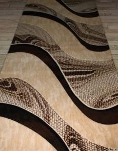 Синтетический ковер Festival 6015A l.beige-d.brown - высокое качество по лучшей цене в Украине.