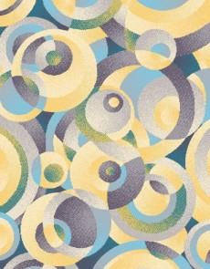 Синтетический ковер Funky Top Top Cir Blekit - высокое качество по лучшей цене в Украине.