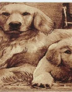 Ковер картина с животными Gold 212-12 - высокое качество по лучшей цене в Украине.