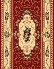 Синтетический ковер Heat-Set 6544A RED - высокое качество по лучшей цене в Украине.