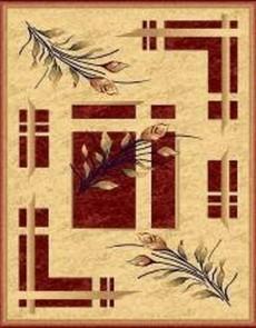 Синтетический ковер Imperial 3629 cream-cherry - высокое качество по лучшей цене в Украине.