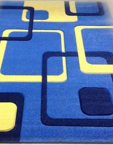 Синтетичний килим Legenda 0395 нокіа синій - высокое качество по лучшей цене в Украине.