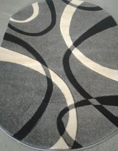 Синтетический ковер Legenda 0353 формула серый - высокое качество по лучшей цене в Украине.