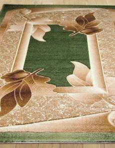 Синтетический ковер Liliya 0557 зелёный - высокое качество по лучшей цене в Украине.