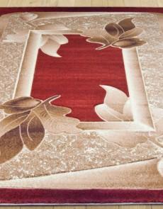Синтетический ковер Liliya 0557 терракот - высокое качество по лучшей цене в Украине.
