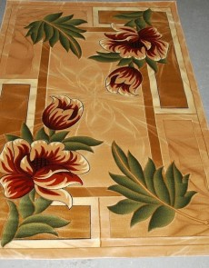 Синтетический ковер Liliya 0575 беж - высокое качество по лучшей цене в Украине.