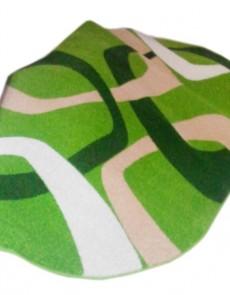 Синтетический ковер Lotus 0004 зелёный - высокое качество по лучшей цене в Украине.