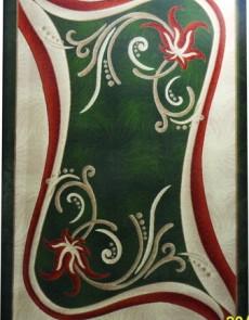 Синтетический ковер Magnoliya 0141 зелёный - высокое качество по лучшей цене в Украине.