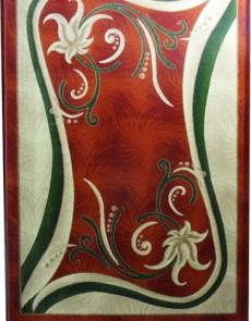 Синтетический ковер Magnoliya 0141 красный - высокое качество по лучшей цене в Украине.