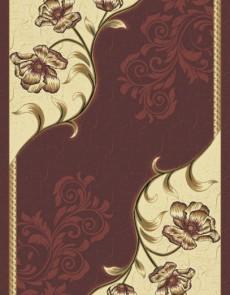 Синтетический ковер  Virizka 8913B BORDO - высокое качество по лучшей цене в Украине.