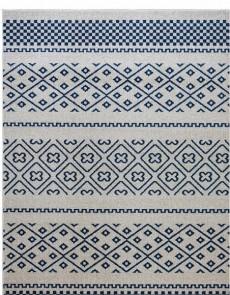 Синтетический ковер Optima 78151 Ivori-Blue - высокое качество по лучшей цене в Украине.
