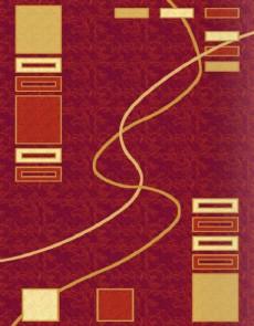 Синтетический ковер Selena 1189 , RED - высокое качество по лучшей цене в Украине.