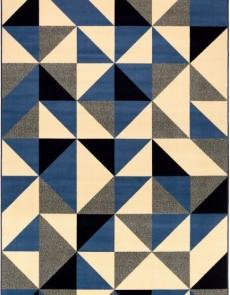 Синтетический ковер Standard Super Triangle Błękit - высокое качество по лучшей цене в Украине.