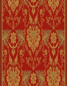 Ковер из вискозы Schenille 7411A red - высокое качество по лучшей цене в Украине.