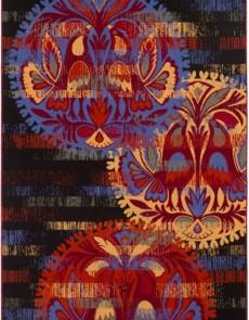Шерстяний килим Folk Famelio Czarny - высокое качество по лучшей цене в Украине.