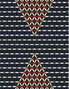 Шерстяной ковер Folk Regiel Czarny - высокое качество по лучшей цене в Украине.
