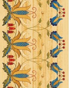Шерстяной ковер Folk Wiano Krem - высокое качество по лучшей цене в Украине.