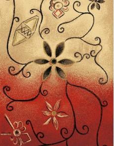 Шерстяной ковер Folk Zarnicka Koral - высокое качество по лучшей цене в Украине.