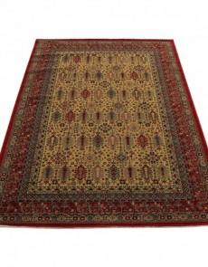 Шерстяной ковер Kirman 0204 camel red - высокое качество по лучшей цене в Украине.