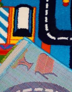 Дитяча килимова доріжка Baby 6046 Mavi-Lacivert - высокое качество по лучшей цене в Украине.