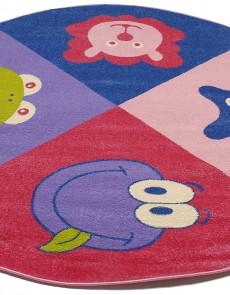Детский ковер Daisy Fulya 8D69a pink - высокое качество по лучшей цене в Украине.