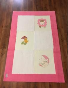 Детский ковер Egeberk EG 1 , PINK WHITE - высокое качество по лучшей цене в Украине.