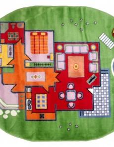 Дитячий килим Kids 5899 , GREEN - высокое качество по лучшей цене в Украине.