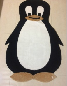 Детский ковер Kids Cocuk grubu penguen 1 , CREAM BLACK - высокое качество по лучшей цене в Украине.