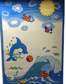 Детский ковер Kids Reviera 37681-44966 Blue - высокое качество по лучшей цене в Украине.