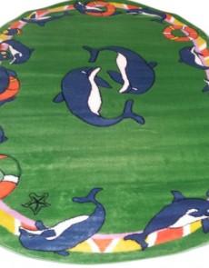 Детский ковер Rainbow 3118 green - высокое качество по лучшей цене в Украине.