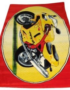 Детский ковер Rainbow 3138 red - высокое качество по лучшей цене в Украине.