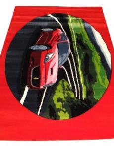 Детский ковер Rainbow 3150 red - высокое качество по лучшей цене в Украине.
