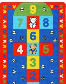 Детский ковер Seksek Red - высокое качество по лучшей цене в Украине.